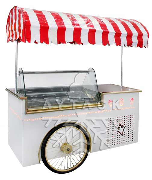 PARSGOL Ice Cream Toppings - Ice Cream Cart PG